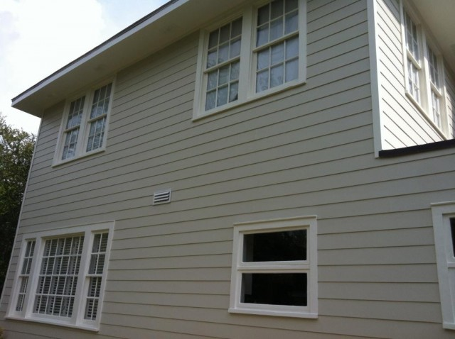 After Hardie Plank Installation