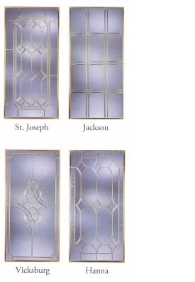Beveled-Leaded Window Glass