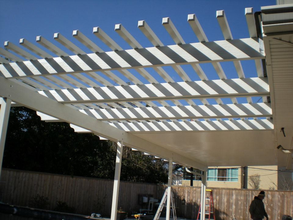 capital improvement patio pergola combination