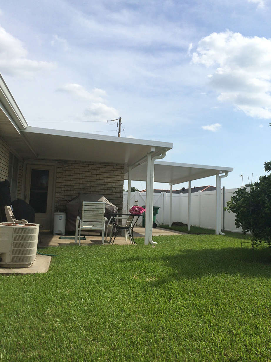 non insulated patio cover metairie la