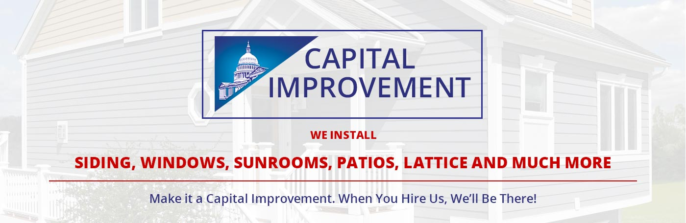 capital improvement installs siding windows sunrooms and more