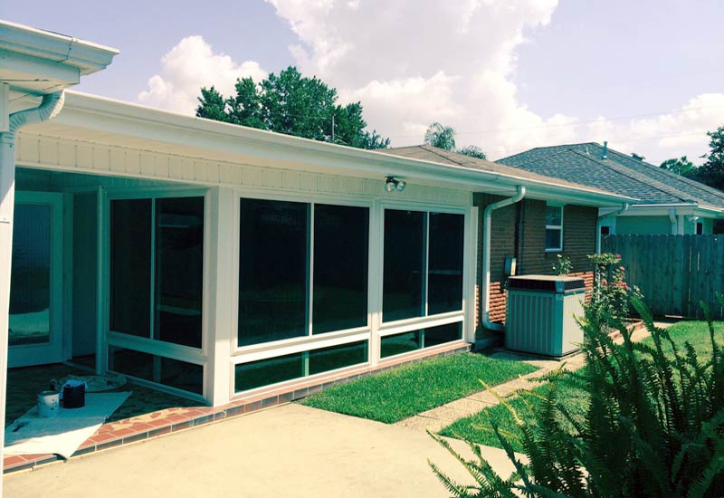 METAIRIE SUNROOM EXTERIOR VIEW