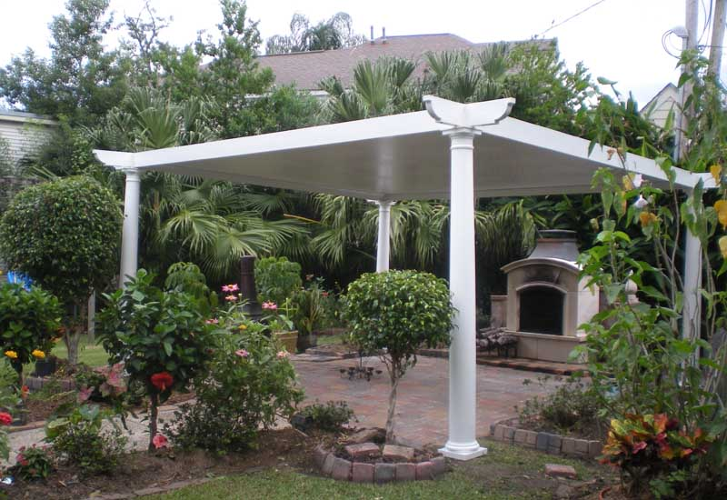 custom built pergolas