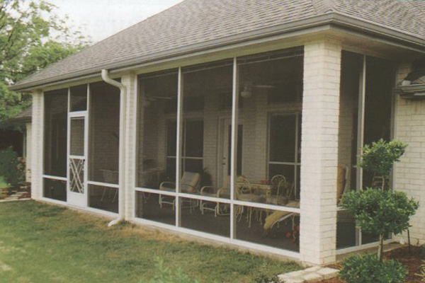 screen room contractor New Orleans